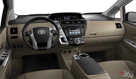 toyota prius v 2015 spinelli toyota pointe claire. Black Bedroom Furniture Sets. Home Design Ideas