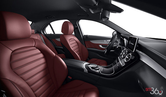 Cranberry Red AMG Leather