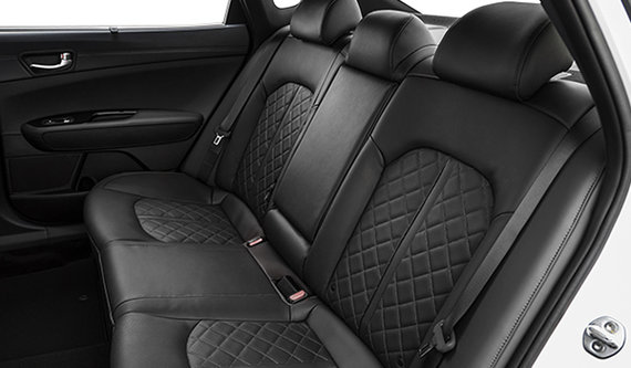 Black Quilted Nappa Leather