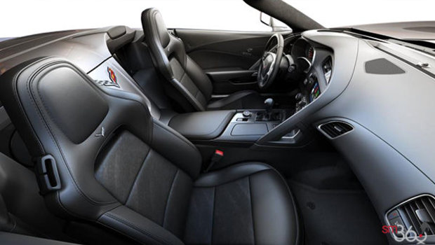 Jet Black GT buckets Leather seating surfaces with sueded microfiber inserts (198-AQ9)