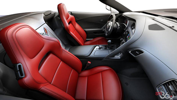 Adrenaline Red GT buckets Perforated Mulan leather seating surfaces (701-AQ9)