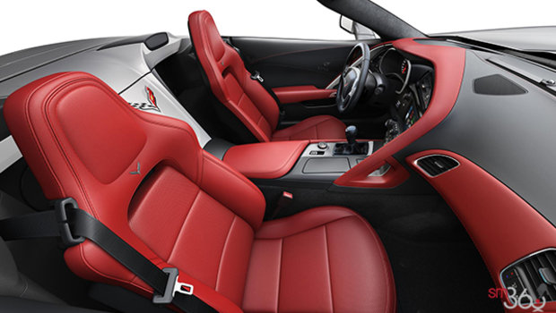 Adrenaline Red GT buckets Perforated Napa leather seating surfaces (705-AQ9)