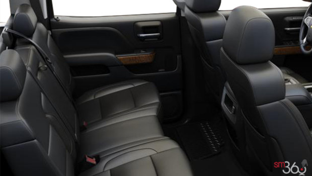 Jet Black Bucket seats Perforated Leather (AN3-H3B)