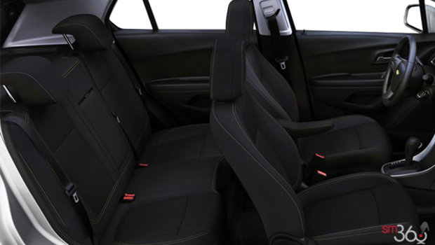 Jet Black Bucket seats Cloth (AFJ-AR9)