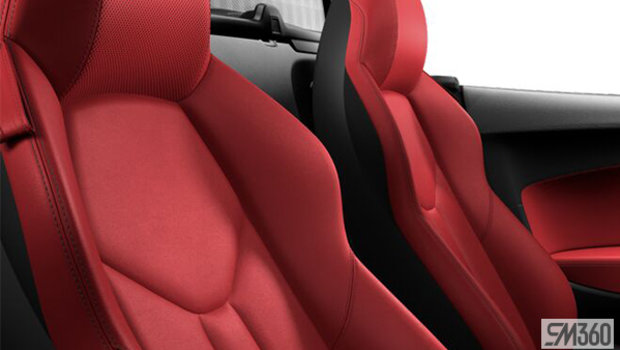Express Red Nappa Leather Sport Seats
