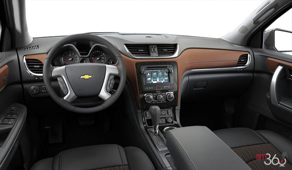 2016 Chevrolet Traverse 2LT | Photo 3 | Ebony/Saddle Premium Cloth