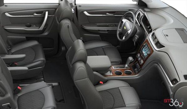 2016 Chevrolet Traverse 2LT | Photo 1 | Ebony Premium Cloth