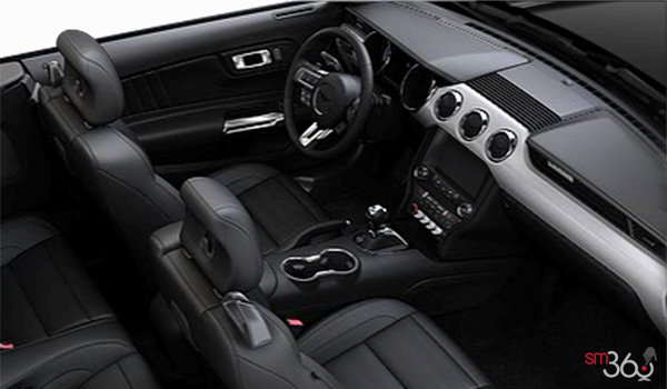2016 Ford Mustang Convertible EcoBoost Premium | Photo 1 | Ebony Premium Leather