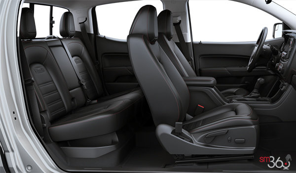 2016 GMC Canyon SLE | Photo 2 | Jet Black/Cobalt Red Cloth