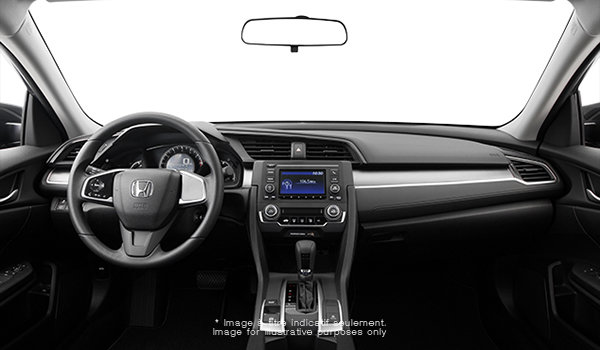 2016 Honda Civic Sedan DX | Photo 3 | Black Fabric