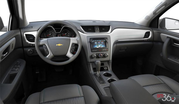 2017 Chevrolet Traverse LS | Photo 3 | Light Titanium/Dark Titanium Premium Cloth
