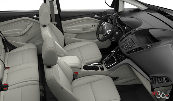 2017 Ford C-MAX ENERGI SE | Photo 1 | Medium Light Stone Cloth