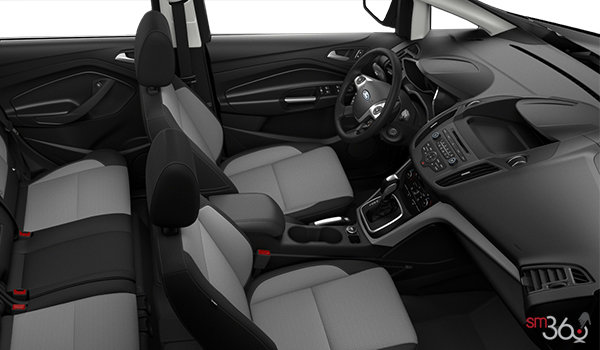 2017 Ford C-MAX HYBRID SE | Photo 1 | Charcoal Black Cloth
