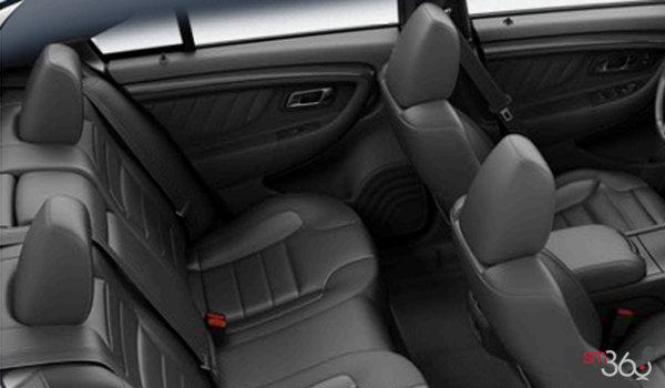 2017 Ford Taurus SHO | Photo 2 | Charcoal Black Leather with Charcoal Perforated Inserts SHO embroidered graphics