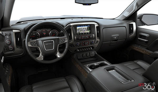 2017 GMC Sierra 1500 DENALI | Photo 3 | Jet Black Perforated Leather