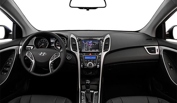2017 Hyundai Elantra GT LIMITED | Photo 3 | Black Leather