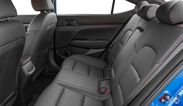 2017 Hyundai Elantra Sport TECH | Photo 2 | Black Leather w/Red Stitching