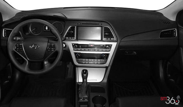 2017 Hyundai Sonata SPORT TECH | Photo 3 | Black Leather/Cloth