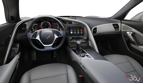 2018 Chevrolet Corvette Convertible Stingray Z51 2LT | Photo 2 | Grey Competition Sport buckets Perforated Mulan leather seating surfaces (143-AE4)