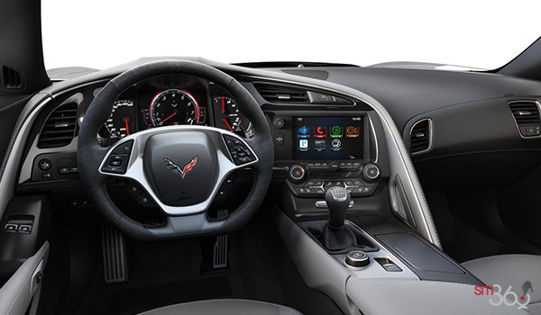 2018 Chevrolet Corvette Coupe Grand Sport 2LT | Photo 2 | Grey Competition Sport buckets Perforated Mulan leather seating surfaces (143-AE4)