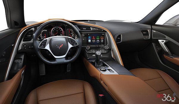 2018 Chevrolet Corvette Coupe Grand Sport 2LT | Photo 3 | Kalahari Competition Sport buckets Perforated Mulan leather seating surfaces (343-AE4)