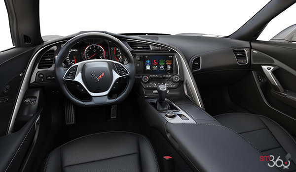 2018 Chevrolet Corvette Coupe Grand Sport 2LT | Photo 3 | Jet Black Competition Sport buckets Perforated Mulan leather seating surfaces (193-AE4)