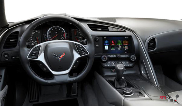 2018 Chevrolet Corvette Coupe Grand Sport 2LT | Photo 2 | Grey GT buckets Perforated Mulan leather seating surfaces (143-AQ9)