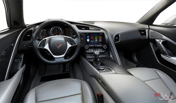 2018 Chevrolet Corvette Coupe Grand Sport 2LT | Photo 3 | Grey GT buckets Perforated Mulan leather seating surfaces (143-AQ9)
