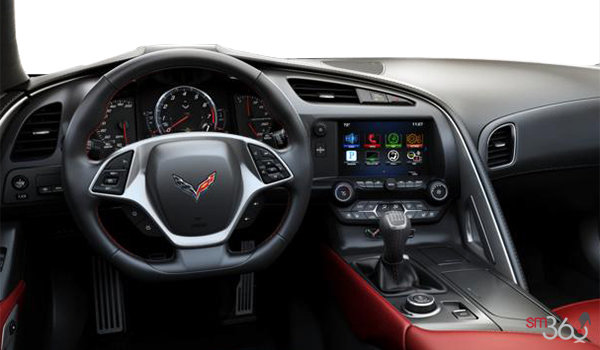 2018 Chevrolet Corvette Coupe Grand Sport 2LT | Photo 2 | Adrenaline Red GT buckets Perforated Mulan leather seating surfaces (703-AQ9)