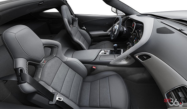 2018 Chevrolet Corvette Coupe Grand Sport 3LT | Photo 1 | Grey Competition Sport buckets Leather seating surfaces with sueded microfiber inserts (146-AE4)