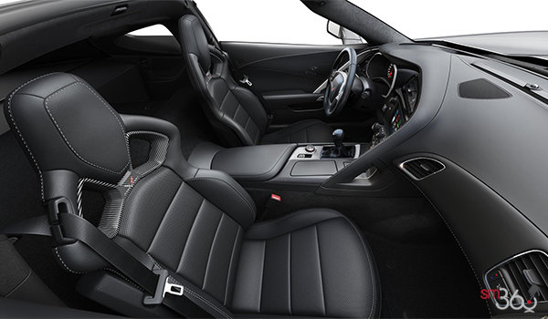 2018 Chevrolet Corvette Coupe Grand Sport 3LT | Photo 1 | Jet Black Competition Sport buckets Perforated Mulan leather seating surfaces (195-AE4)