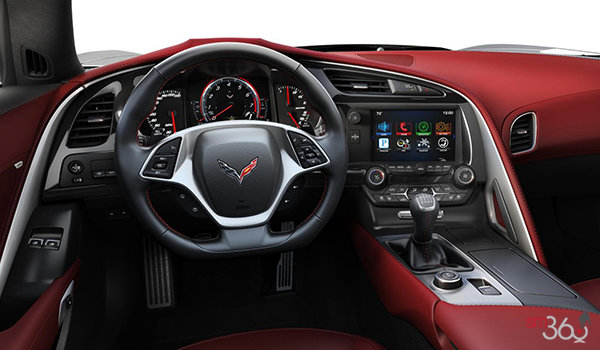 2018 Chevrolet Corvette Coupe Grand Sport 3LT | Photo 2 | Spice Red Competition Sport buckets Perforated Mulan leather seating surfaces (755-AE4)