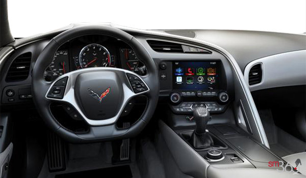 2018 Chevrolet Corvette Coupe Grand Sport 3LT | Photo 2 | Grey GT buckets Leather seating surfaces with sueded microfiber inserts (146-AQ9)