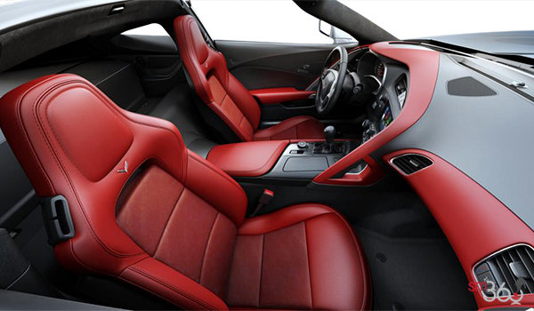 2018 Chevrolet Corvette Coupe Grand Sport 3LT | Photo 1 | Adrenaline Red GT buckets Leather seating surfaces with sueded microfiber inserts (706-AQ9)
