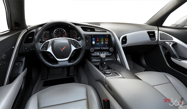 2018 Chevrolet Corvette Coupe Grand Sport 3LT | Photo 3 | Grey GT buckets Perforated Napa leather seating surfaces (145-AQ9)