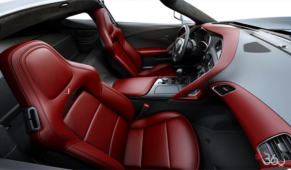 2018 Chevrolet Corvette Coupe Stingray Z51 3LT | Photo 1 | Spice Red GT buckets Perforated Napa leather seating surfaces (755-AQ9)