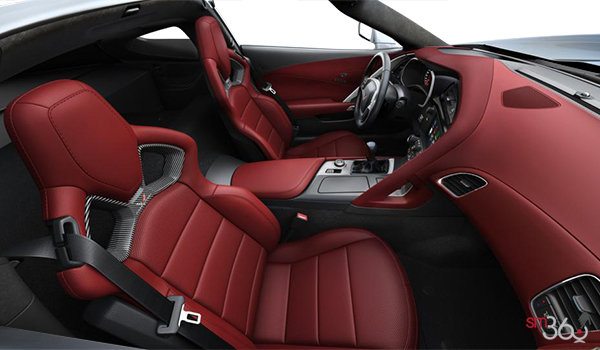 2018 Chevrolet Corvette Coupe Stingray Z51 3LT | Photo 1 | Spice Red Competition Sport buckets Perforated Mulan leather seating surfaces (755-AE4)