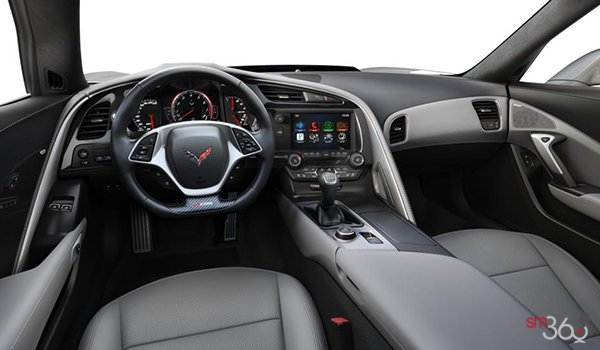2018 Chevrolet Corvette Coupe Z06 3LZ | Photo 3 | Grey GT buckets Perforated Napa leather seating surfaces (145-AQ9)