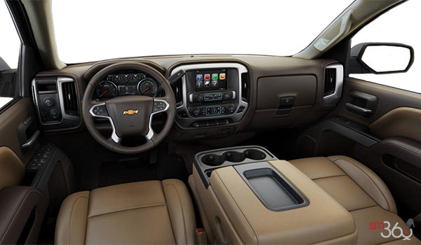 2018 Chevrolet Silverado 1500 LTZ 2LZ | Photo 3 | Cocoa/Dune Leather (B3F-H0K)