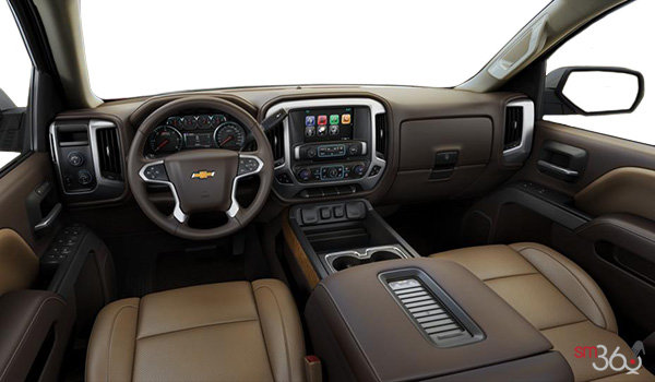 2018 Chevrolet Silverado 1500 LTZ 2LZ | Photo 3 | Cocoa/Dune Bucket seats Perforated Leather  (AN3-H3A)