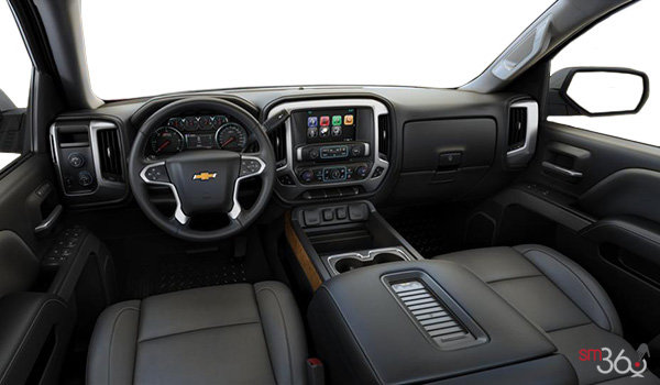 2018 Chevrolet Silverado 1500 LTZ 2LZ | Photo 3 | Dark Ash/Jet Black Bucket seats Leather (AN3-H2V)
