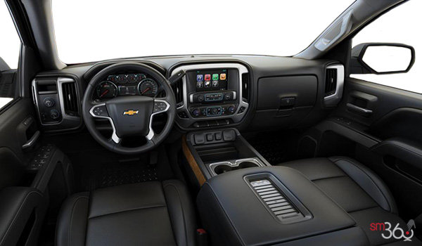 2018 Chevrolet Silverado 1500 LTZ 2LZ | Photo 3 | Jet Black Bucket seats Perforated Leather (AN3-H3B)