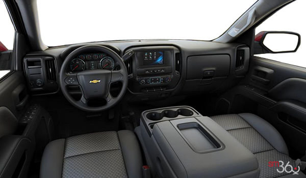 2018 Chevrolet Silverado 1500 WT | Photo 3 | Dark Ash/Jet Black Cloth (AE7-H2R)