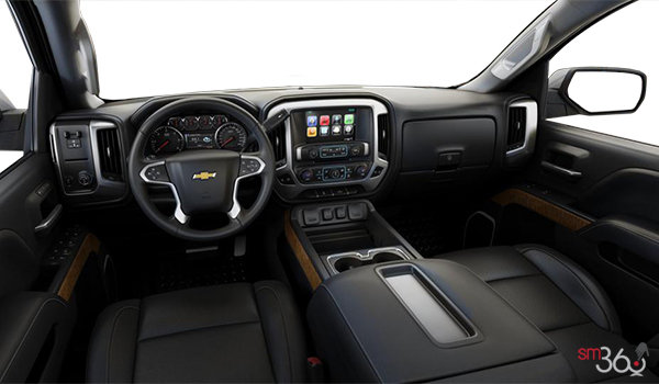 2018 Chevrolet Silverado 2500HD LTZ | Photo 3 | Jet Black Bucket seats Perforated Leather (AN3-H3B)