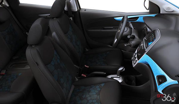 2018 Chevrolet Spark 1LT | Photo 1 | Jet Black/Blue Cloth