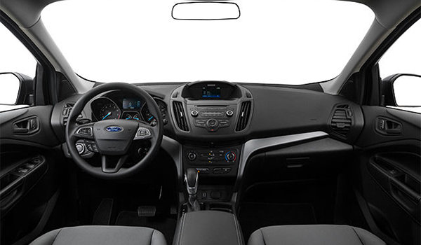 2018 Ford Escape S | Photo 3 | Charcoal Black Cloth