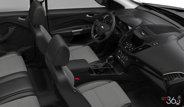 2018 Ford Escape TITANIUM | Photo 1 | Charcoal Black Groove/Salerno Partial Leather