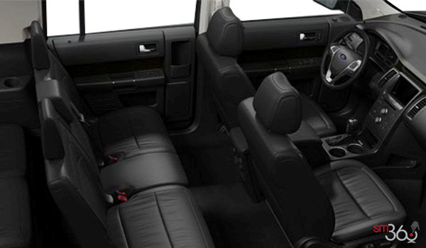 2018 Ford Flex SEL | Photo 1 | Charcoal Black Leather