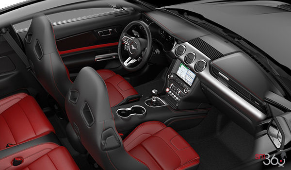 2018 Ford Mustang GT Premium Fastback | Photo 1 | Showstopper Red RECARO Premier Leather