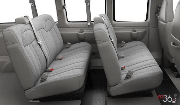 2018 GMC Savana 3500 PASSENGER LT | Photo 2 | Medium Pewter Cloth(93G-AS5)